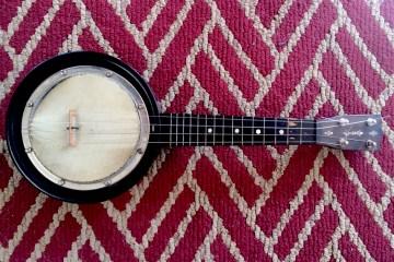uke banjo 1930s Gretsch American