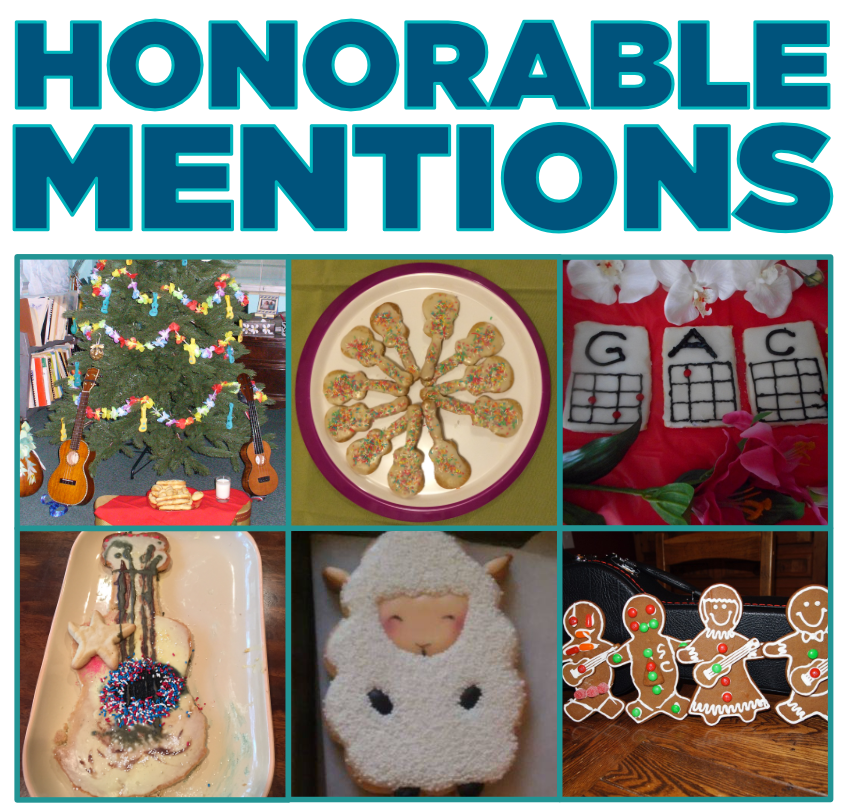 Cookie-lele Honorable Mentions