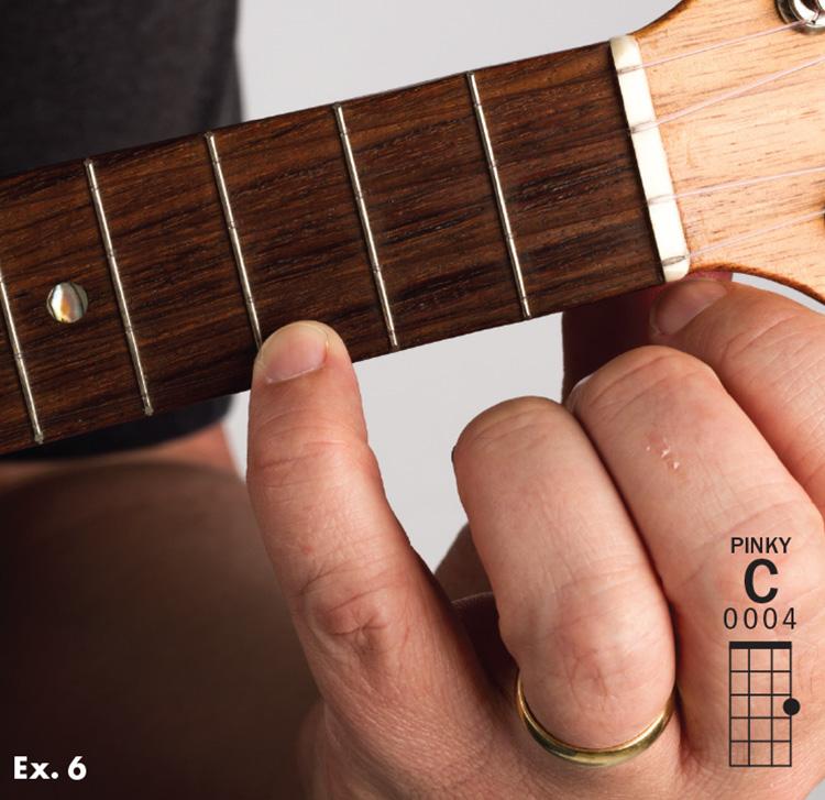 Add Ease And Elegance To Basic Ukulele Chords With Your Pinky Ukulele