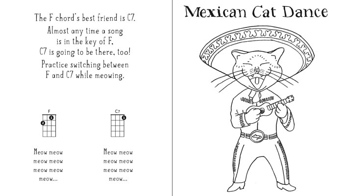 Mexican Cat Dance - Book Page