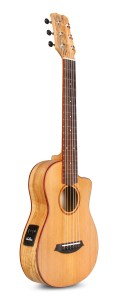 Cordoba Mini SM-CE with a spalted maple back and sides