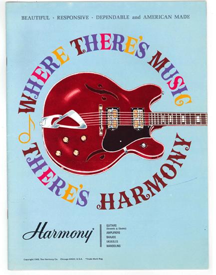 vintage uke catalog harmony