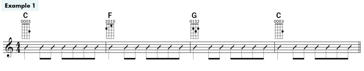 jim d'ville ukulele basics lesson chords example1