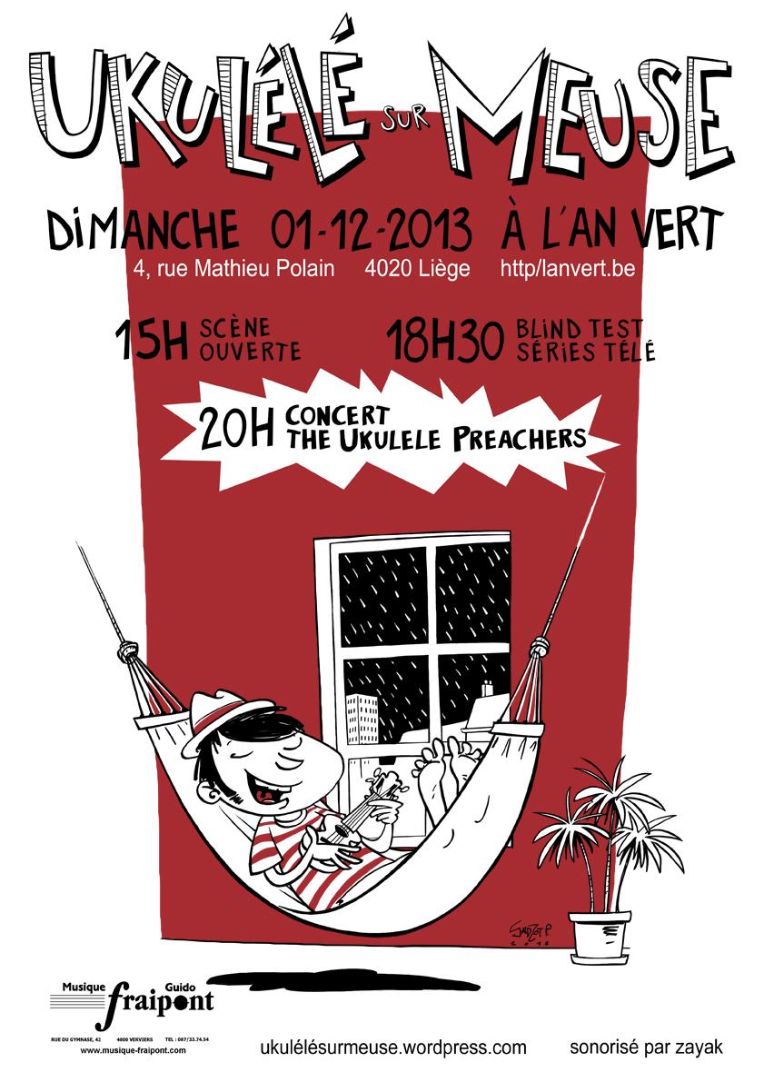 Ukulélé sur Meuse le 01/12/13