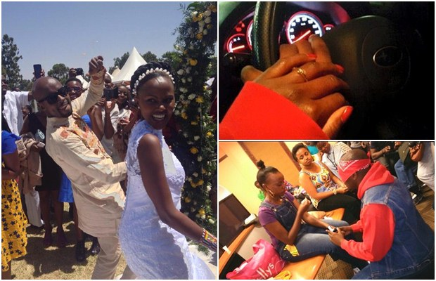 Mark masaai wedding
