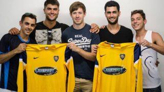 Boca Juniors Gibraltar (Crédito: Facebook)