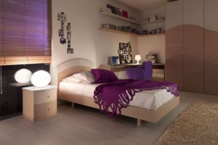 amazing purple bedroom ideas for teenage girl
