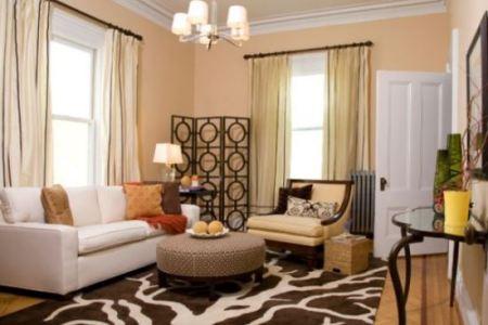 extended sofa decor idea for living room corner