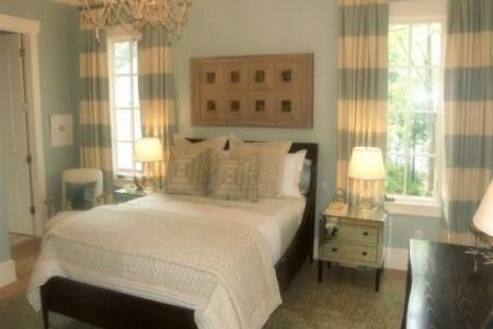 vintage themed guest bedroom design