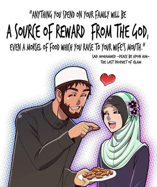 happy valentines day to my beloved family memes - islamic and muslim marriage quotes