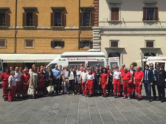 Sanità Umbria: Todi, da poste italiane ambulatorio mobile alla Croce Rossa
