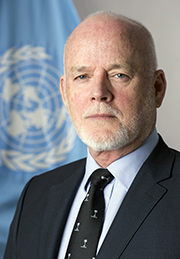 H.E. Mr Peter Thomson, President of the 71st session of the United Nations General Assembly