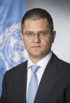 Foto del candidato de Montenegro Igor Lukšić