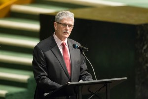 Ministerial meeting on the occasion of the 50th anniversary of the United Nations Development Programme (organized by the United Nations Development Programme (UNDP))  President of the General Assembly, Mogens Lykketoft