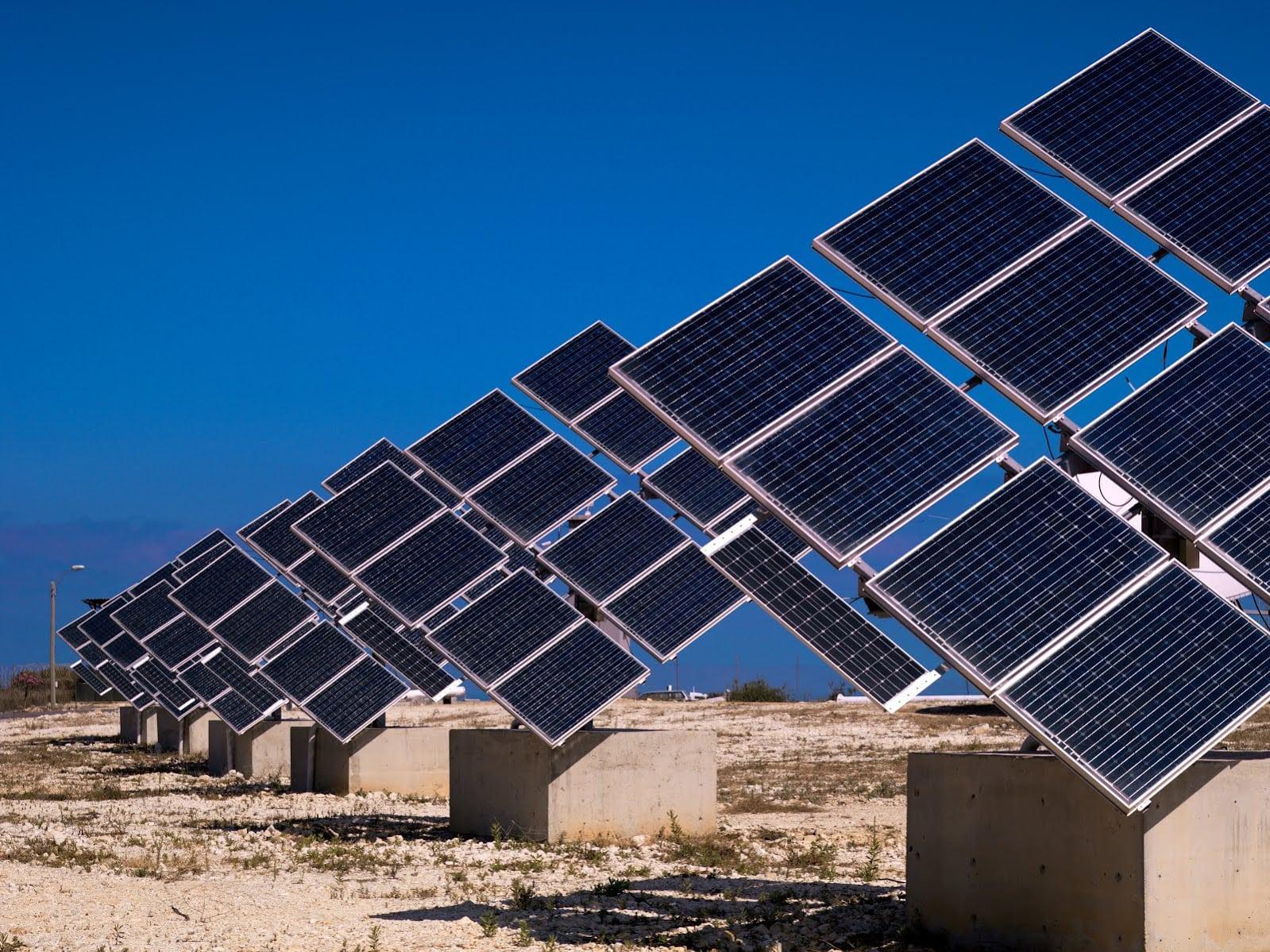 Photo: Solar panels