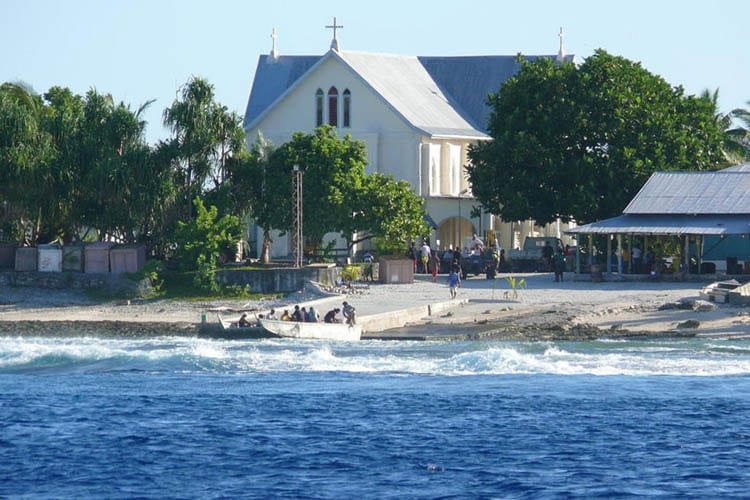 Photo: Nukunonu, Samoa, is vulnerable to the impacts of climate change.