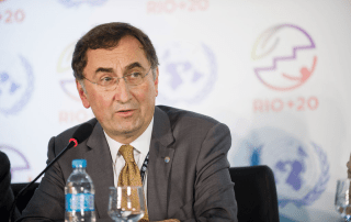 """Government policies that support low-carbon growth will also help advance the 2030 Agenda for Sustainable Development,"" Assistant Secretary-General Janos Pasztor said. UN Photo/Maria Elisa Franco"