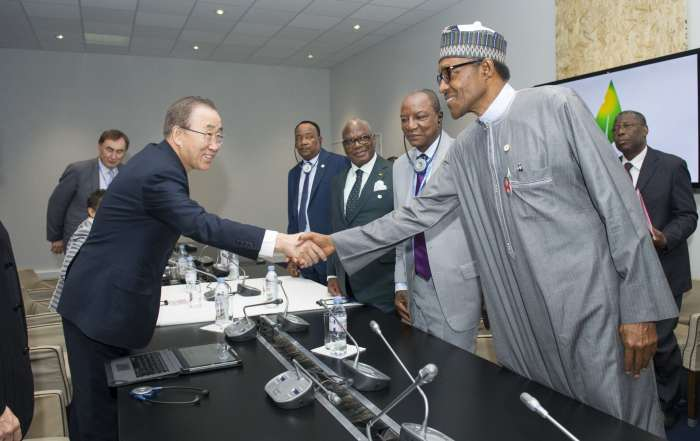 Secretary-General Ban Ki-moon meets with Meeting with African Leaders