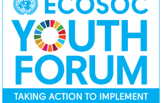 Image: ECOSOC Youth Forum 2016 logo