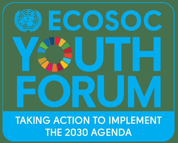 Image: ECOSOC Youth Forum 2016 logo