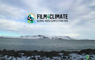 Photo: Film4Climate - Global Video Competition 2016 - What's Your Climate Story