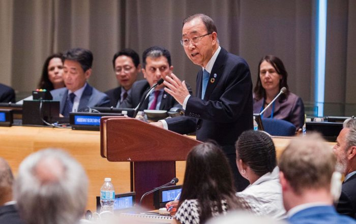 Ministerial Segment of the High-level Political Forum on Sustainable Development Goals