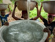 Photo: Accessing safe and clean water in Woukpokpoe village, Benin.