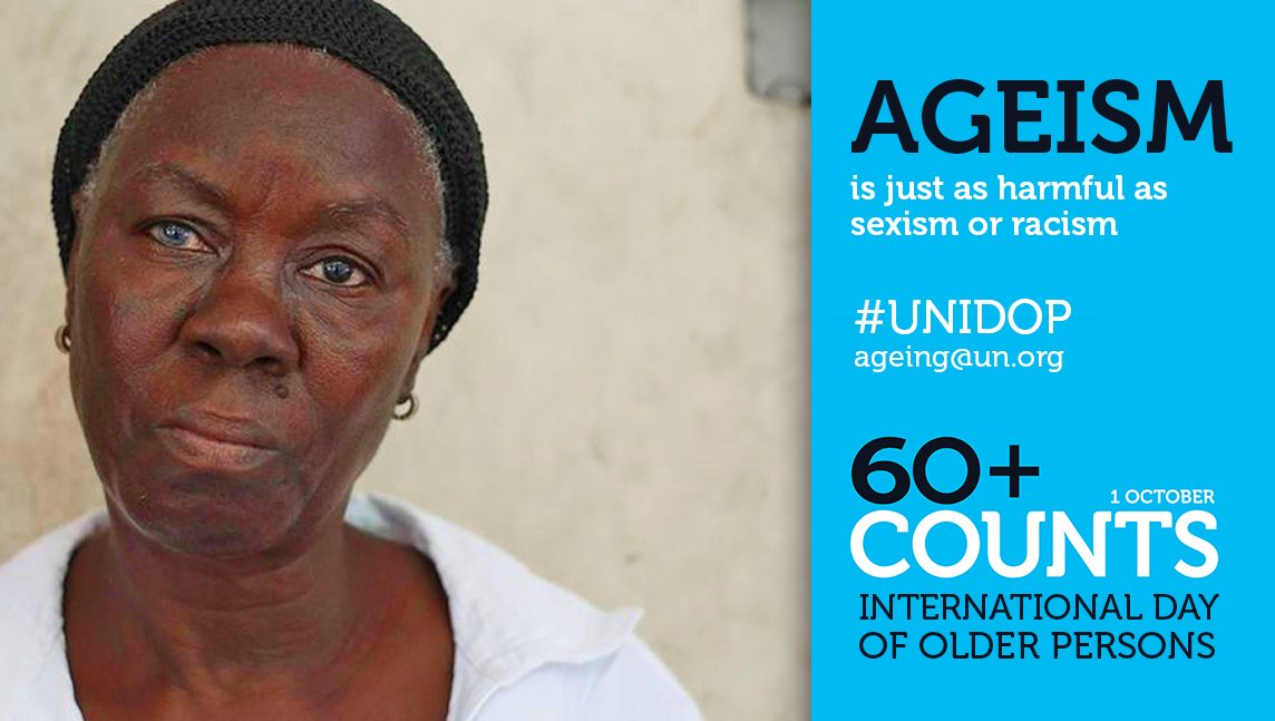Image: Speak out against ageism.