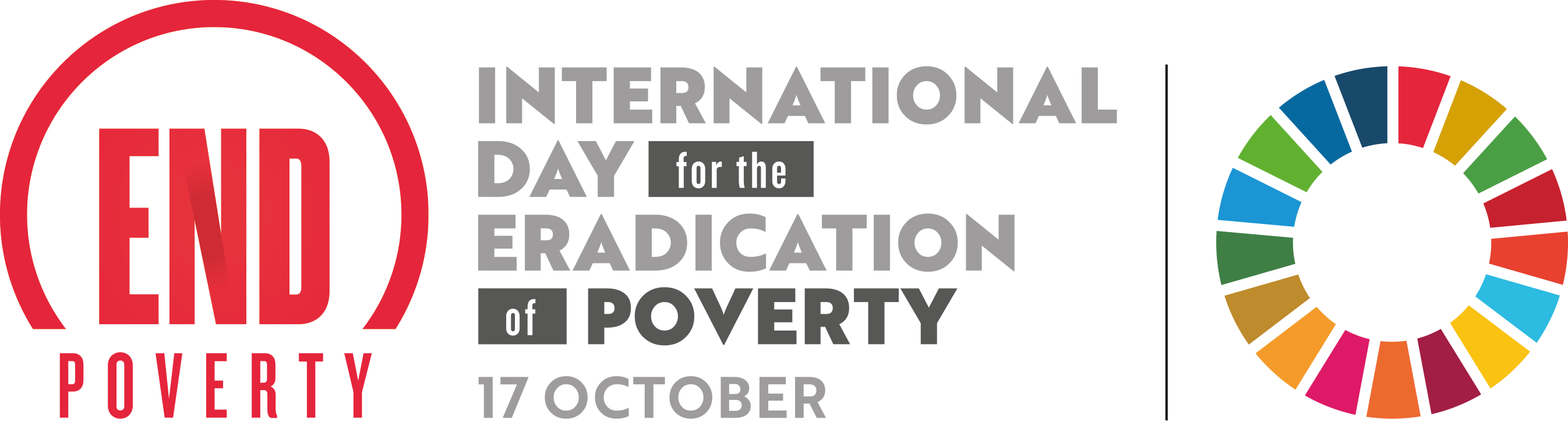 International Day for the Eradication of Poverty Logo
