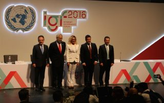 Photo: The opening ceremony of the IGF 2016.