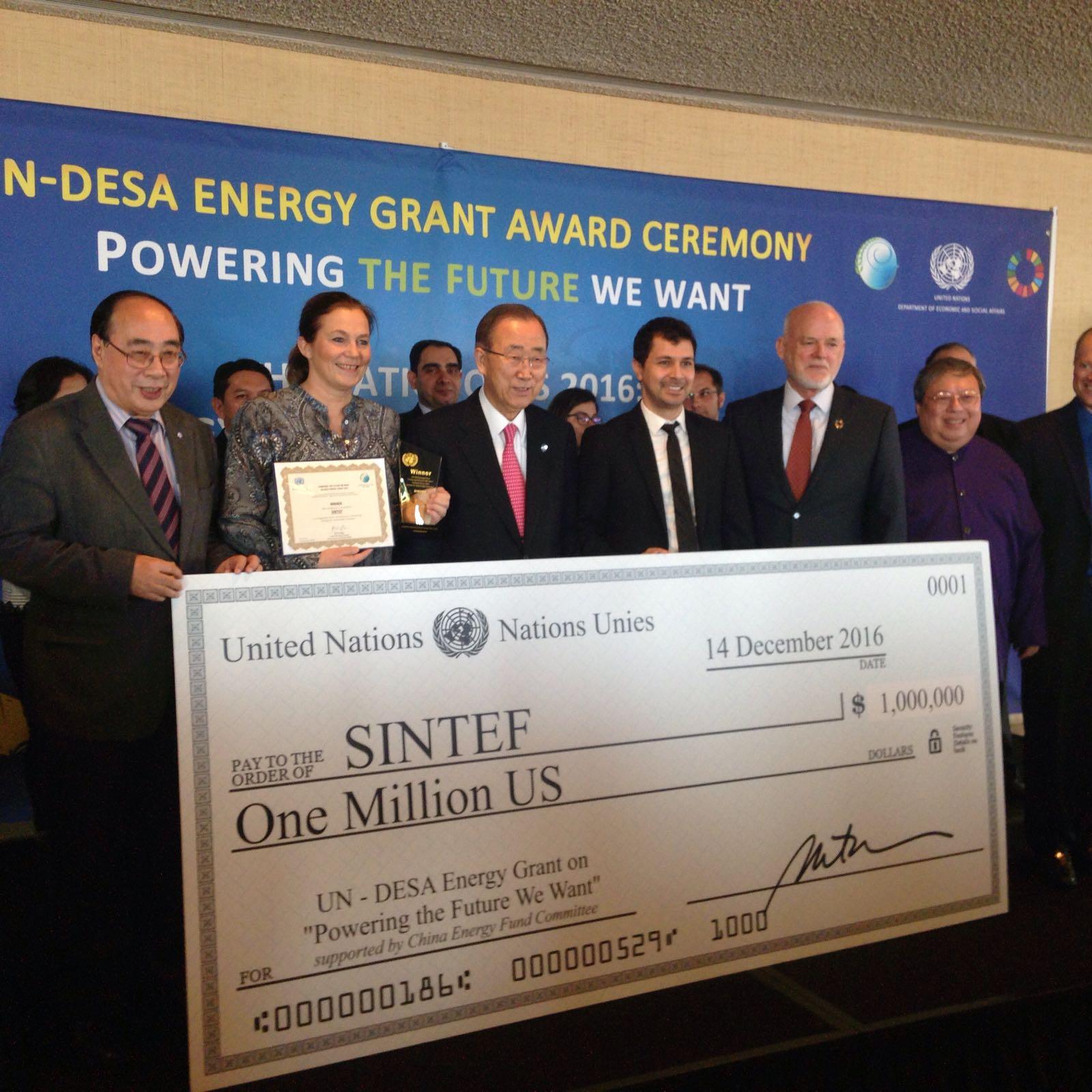 DESA Energy Grant