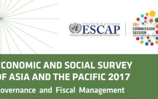 Economic and Social Survey of Asia and the Pacific 2017 - Cover