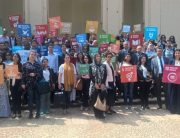 """At UNIC Rabat event on the SDGs, Moroccan students advocate for a stronger UN role in global finance governance, asking that """"no one be left behind""""."""