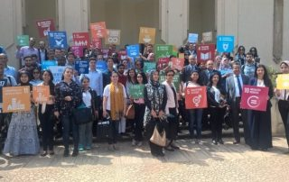 "At UNIC Rabat event on the SDGs, Moroccan students advocate for a stronger UN role in global finance governance, asking that ""no one be left behind""."
