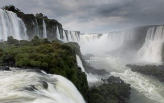 The Iguazu Falls, on the border between Brazil and Argentina. UN Photo/Mark Garten