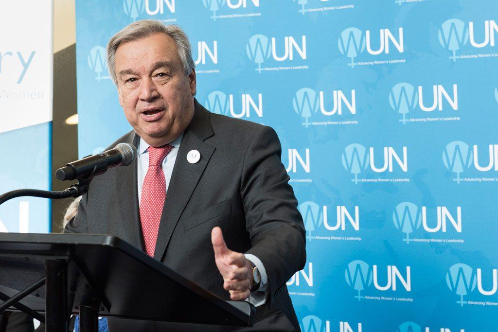 Photo: Secretary-General António Guterres.