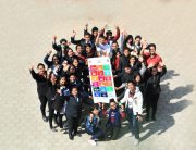 Youth take a leading role to raise awareness and mobilize stakeholders for the SDGs. In this photo, a group of youth from YUWA, a youth organization supported by UNDP pose for a photo during a college-level orientation program on the SDGs/ Laxmi Prasad Ngakhusi/UNDP Nepal