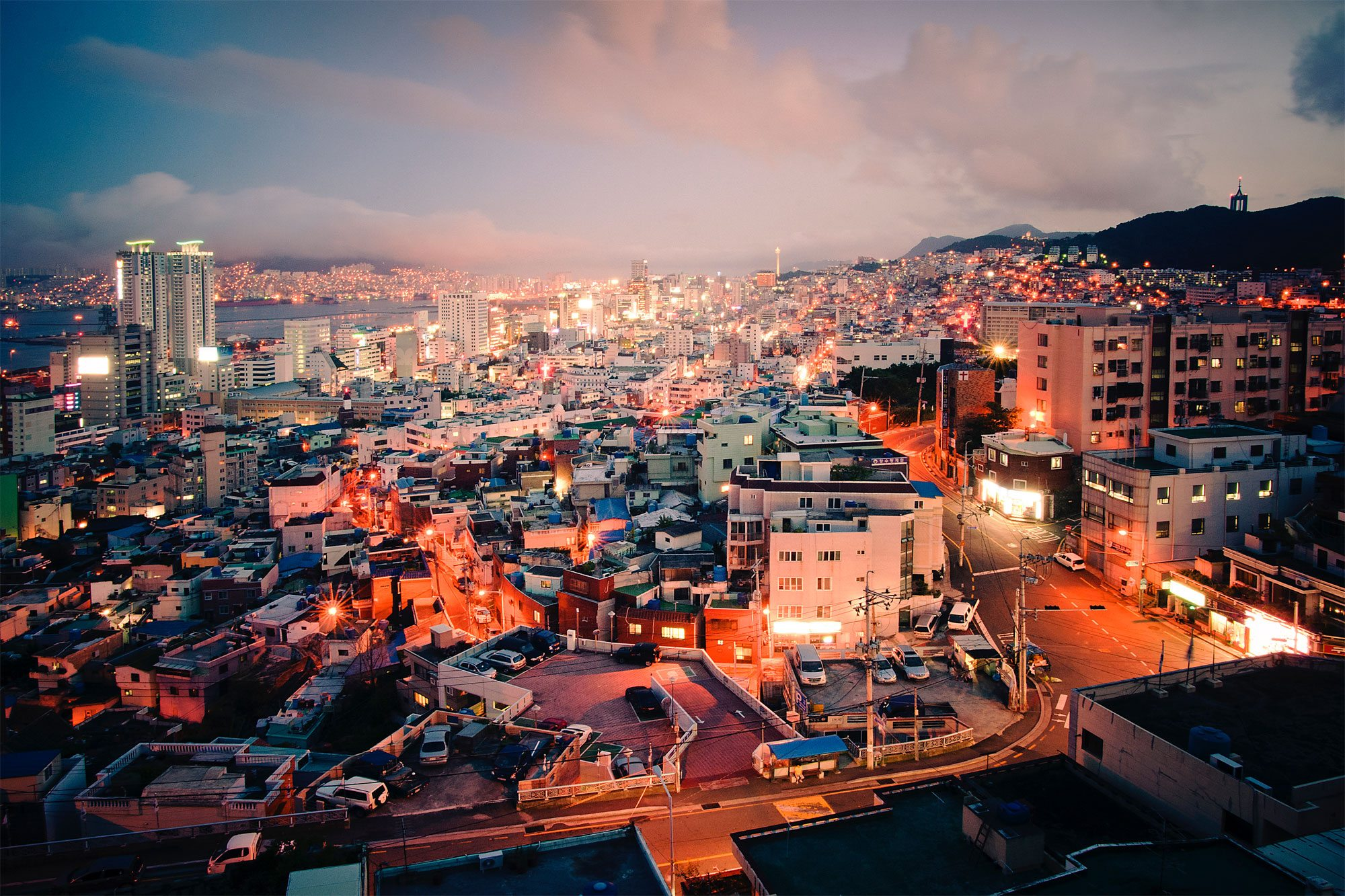 A view of Busan, the Republic of Korea's second largest city after Seoul. UN Photo/Kibae Park