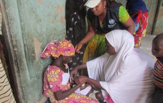 The World Health Organization (WHO) and partners take on malaria in north-east Nigeria. Photo: WHO Nigeria/L. Ozor