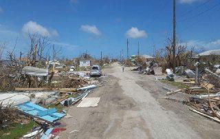 Damage on 8 September 2017 from Hurricane Irma in Antigua and Barbuda. Photo: UNDAC/Silva Lauffer