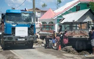 Photo: Hurricane devastation in Domenica.