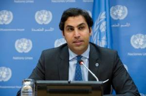Official portrait of Ahmad Alhendawi, the Secretary-General's first Envoy on Youth. The Envoy assumed his position on 17 January 2013 to advocate for addressing the development needs and rights of young people, as well as to bring the work of the United Nations with and for youth closer to them.