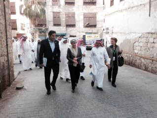 Ahmad, Bokova, and Saudis