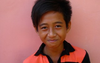 Chhun Sopheaktra, 14, participated in the 2012 Cambodia OneMinutesJr. workshop. His film ''Liquid Changes Life'' is a nominee in the One Minute of Freedom category. © UNICEF NYHQ/2012/Cirillo