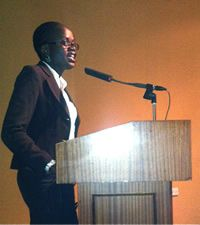Stella Agara, Deputy Director of the African Youth Trust, Member and UN Habitat Youth Advisory Board member