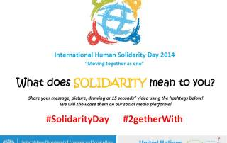 Solidarity Day promo picture