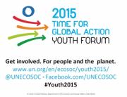 ECOSOC Youth Forum 2015 video