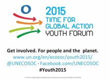ECOSOC Youth Forum 2015 video