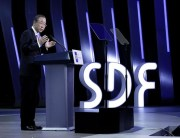 Secretary-General Ban Ki-moon addresses the Seoul Digital Forum. UN Photo/Evan Schneider