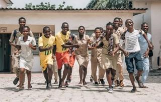 Students in Cotonou, Benin. © UNFPA Benin/Ollivier Girard